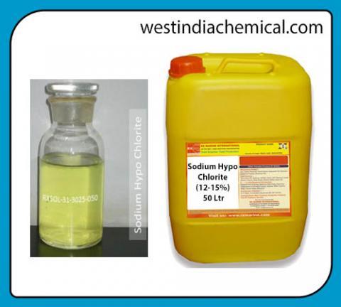 Sodium Hypo Chlorite 12-15% | West India Chemicals